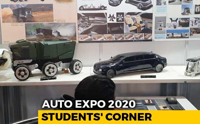 Video : Auto Expo 2020: Students' Corner