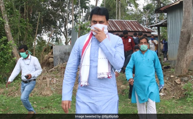Tripura Chief Minister Biplab Deb Self-Isolates After Family Members Test Positive