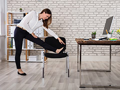 Lockdown Health Tips: Prevent Long Sitting Hours With These Simple Chair Exercises