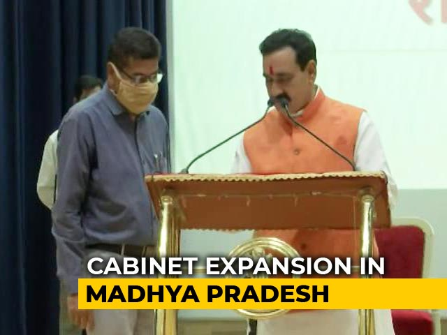 Video : One-Man Madhya Pradesh Cabinet Gets 5 New Ministers Amid COVID-19 Crisis