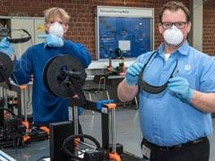 Coronavirus Pandemic: Volkswagen Uses 3D Printer To Make Face Shields