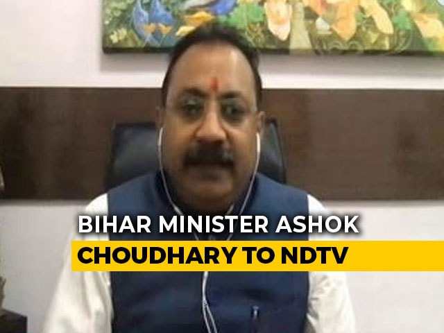 "Video : Lockdown Should Be Relaxed In A Phase Wise Manner After May 3"": Bihar Cabinet Minister"