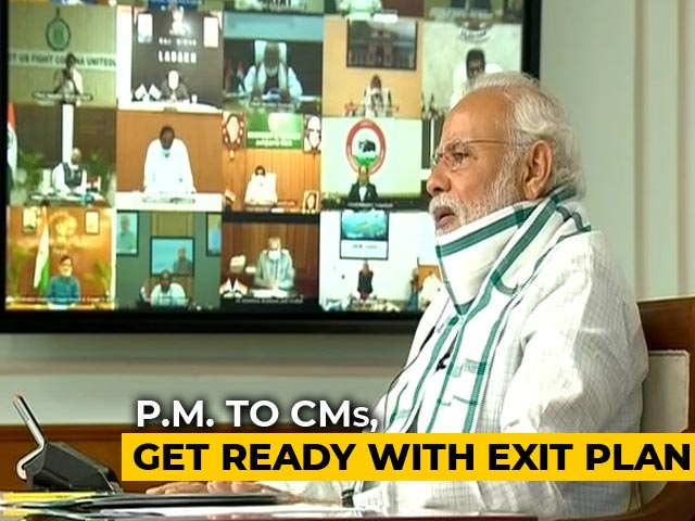 Video : Get Ready With Exit Plan: PM Modi To Chief ministers
