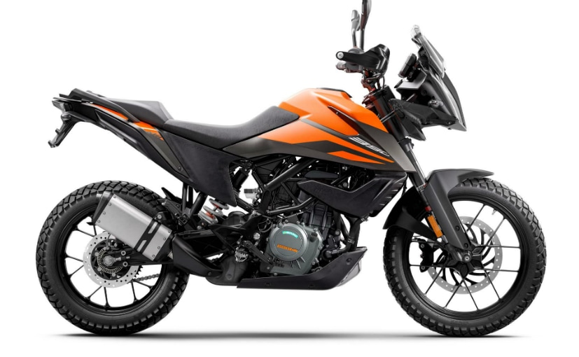 The KTM 390 Adventure gets the biggest price hike, of Rs. 4,485