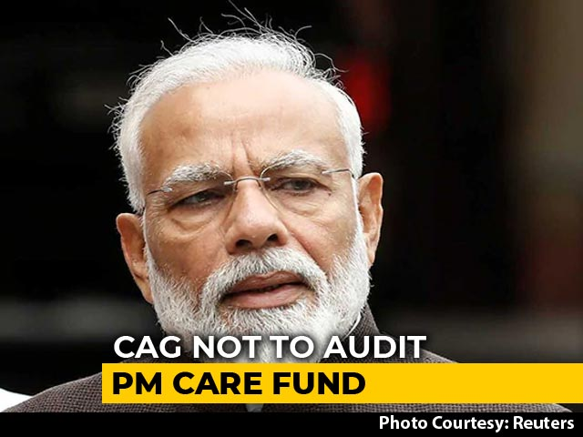 Video : PM CARES Fund Won't Be Checked By Government's Auditor, Say Sources