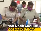 Video : Police Station Takes Up Task Of Producing Masks, Sanitisers For Poor