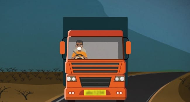 Coronavirus: Government Issues Cleanliness Guidelines For Essential Goods Vehicles