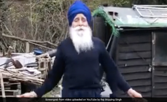 73-Year-Old 'Skipping Sikh' Honoured For Raising Funds For UK's National Health Service