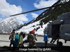 Army Evacuates Critically Ill Pregnant Woman From Snow-Choked Valley In J&K