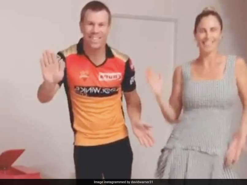 David Warner Candice Dance To Telugu Song Daughter Makes Adorable Cameo Entry Watch Video Cricket News