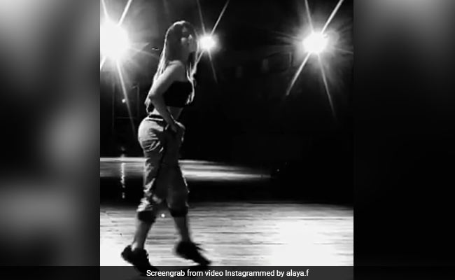 Alaya Furniturewalla 'Slipped At One Point' In This Throwback Dance Video. Can You Spot It?