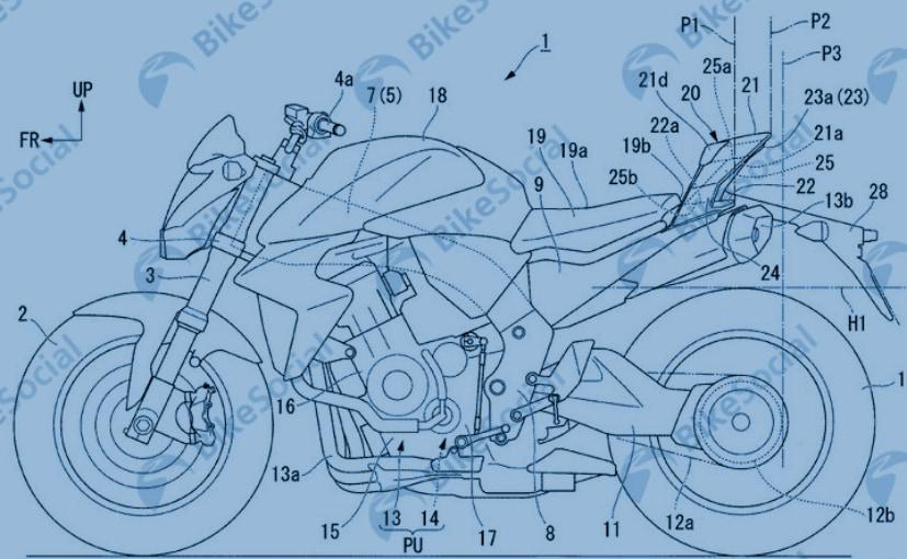 Honda Patents Reveal New Aerodynamic Tail Section Design