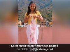इस लड़की ने साड़ी से चुटकियों में बनाई खूबसूरत ड्रेस, TikTok पर 32 लाख से ज्यादा बार देखा गया वीडियो