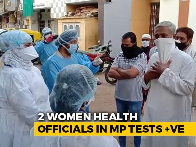 Video : 2 Top Health Officials Test Coronavirus Positive In Madhya Pradesh