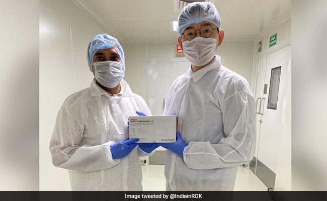 South Korean Firm Makes COVID-19 Rapid Test Kits At Haryana's Manesar