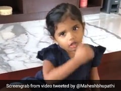 """Coronavirus Go"": Adorable Video Of Mahesh Bhupathis Niece Will Melt Your Heart. Watch"