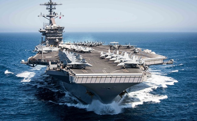 US Navy Upholds Demotion Of Captain Of Coronavirus-Hit Aircraft Carrier USS Theodore Roosevelt