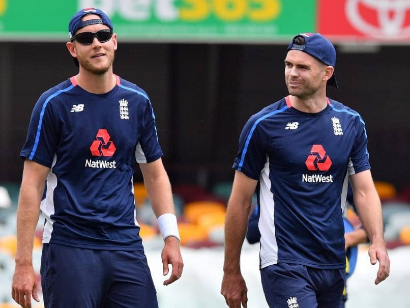 England Pace Bowlers James Anderson, Stuart Broad Set Ashes Target