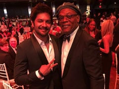"""Ali Fazal Posts Throwback Pic With Samuel L Jackson, Writes: """"Thank You For Being An Inspiring Figure"""""""