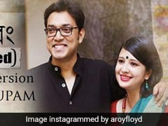National Award Winner Anupam Roy And His Wife Piya Chakraborty Create A Duet Video Song During Lockdown