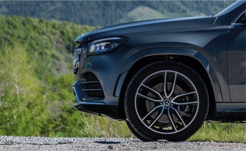 La nueva generación de Mercedes-Benz GLS aparece en el sitio web de la compañía en India 66