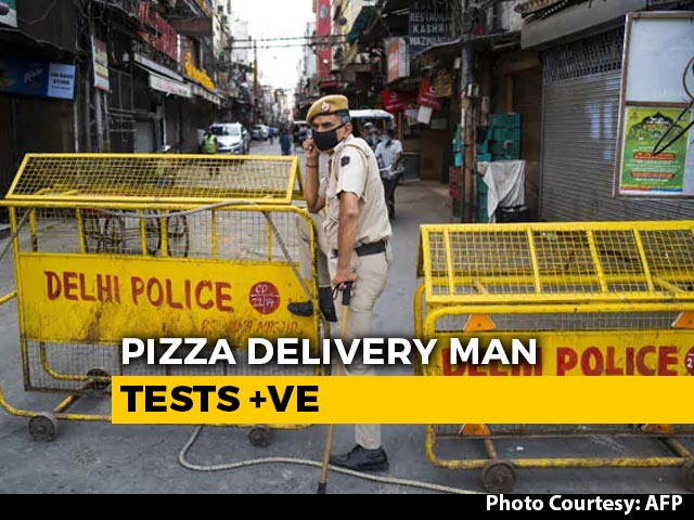 Video : Delhi Pizza Delivery Agent Tests COVID-19 +ve, 72 Families Quarantined