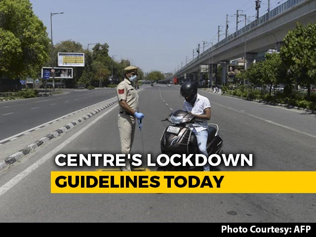 Video : Lockdown Extended Till May 3, Centre To Issue Guidelines Today