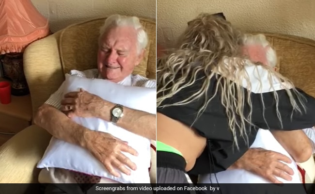 94-Year-Old Man Moved To Tears By Caregiver's Gift. Watch Viral Video