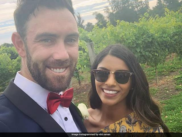 """Glenn Maxwells Fiancee Vini Raman Shares Relationship Secrets With """"Pre-Isolation"""" Picture"""