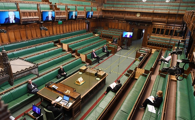 Britain's 'Hybrid Parliament' Makes Almost Glitch-Free Debut On Zoom