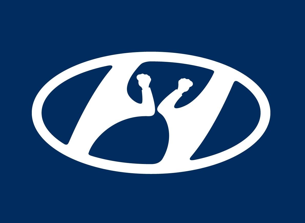 Coronavirus: Hyundai Logo Re-imagined To Promote Social Distancing