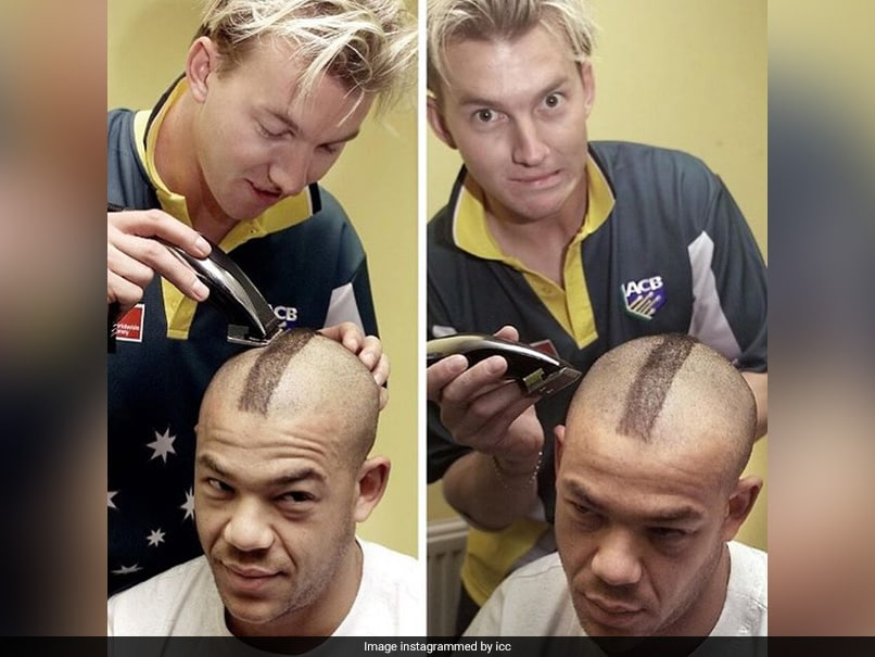 ICC Shares Hilarious Picture Of Brett Lee, Andrew Symonds On Hair Appreciation Day