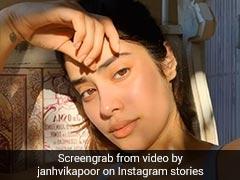 जाह्नवी कपूर ने बताया अपनी फ्लॉलेस स्किन का सीक्रेट