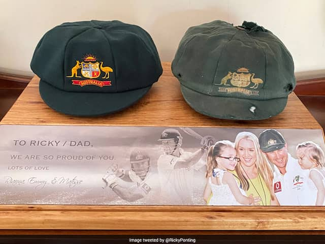 """Ricky Ponting Showcases His """"Favourite Piece Of Memorabilia"""" On Twitter"""