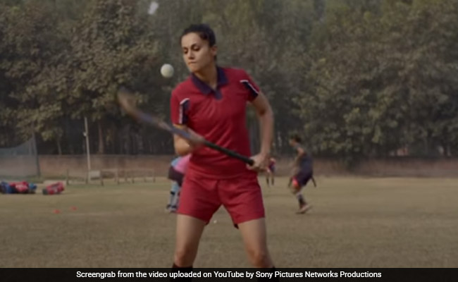The Punishment That Helped 'Hyper Active' Taapsee Pannu On The Sets Of Soorma