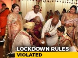 Video : What Social Distancing? HD Kumaraswamy's Son's Wedding Draws Scrutiny