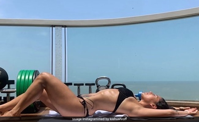The Internet Is Smitten By Krishna Shroff Chilling In A Bikini