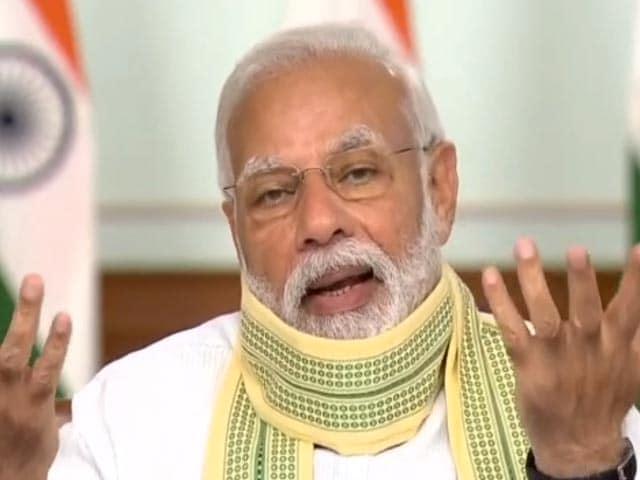 "Video : ""Self-Reliance Biggest Lesson From COVID-19 Crisis,"" Says PM Modi"
