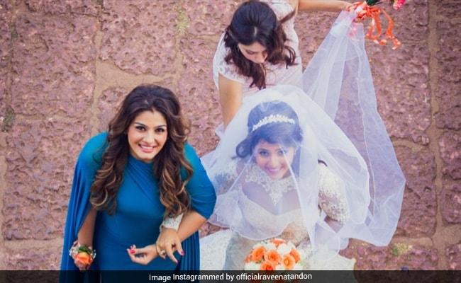 Raveena Tandon Shares Throwback Pics From Daughter Chaya's Dreamy Wedding