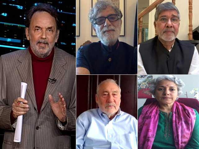 Video : Prannoy Roy's Townhall With Joseph Stiglitz, Deepak Chopra