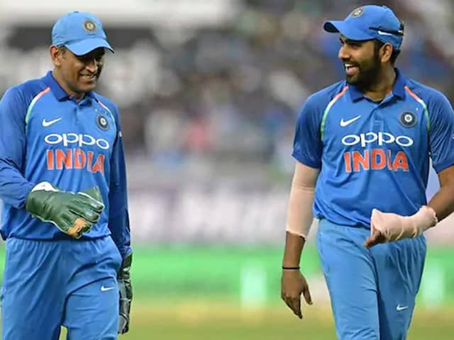 "Rohit Sharma Says ""Havent Heard Any News About MS Dhoni"" Since World Cup"