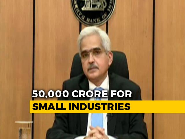Video : Rs. 50,000 Crore Stimulus For Financial Institutions, Says RBI Governor