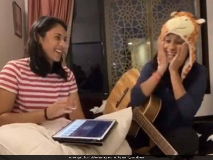 Watch: Smriti Mandhana, Jemimah Rodrigues Jam Session Impresses Fans
