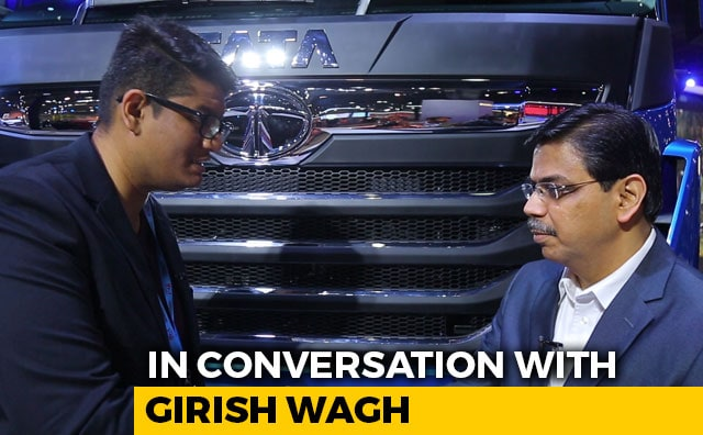 Video : In Conversation With Girish Wagh, President, Commercial Vehicles, Tata Motors