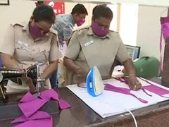 Police Station Takes Up Task Of Producing Masks, Sanitisers For Poor To Fight COVID-19