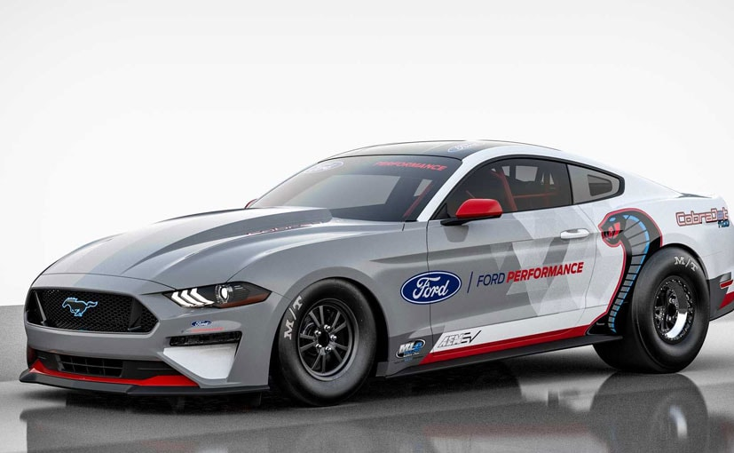 Ford Mustang Cobra Jet Electric Dragster Is The First Ever Electric Mustang