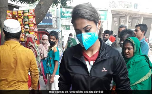 Bangladesh women pacer Jahanara Alam serving 50 underprivileged families Coronavirus outbreak