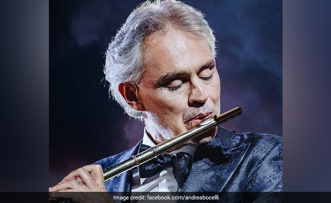 How To Stream Andrea Bocelli's Solo Performance From India Tonight