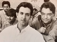 """Hrithik Roshan """"Overwhelmed"""" By A Throwback Pic From Before <I>Kaho Naa... Pyaar Hai</i> Released"""