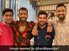 """Best In The World"": Hardik Pandya Tweets Siblings Day Photo With Krunal, Cousins"